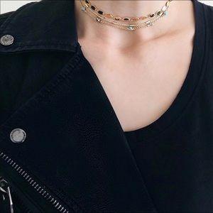 Jewelry - Layered choker necklace